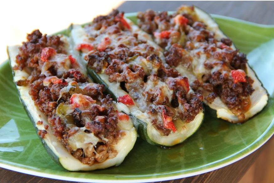 Beroemd Heerlijke gevulde courgette bootjes met (vegetarisch) gehakt | Freshhh #VC54