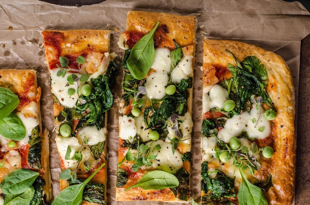 spelt pizza bodem