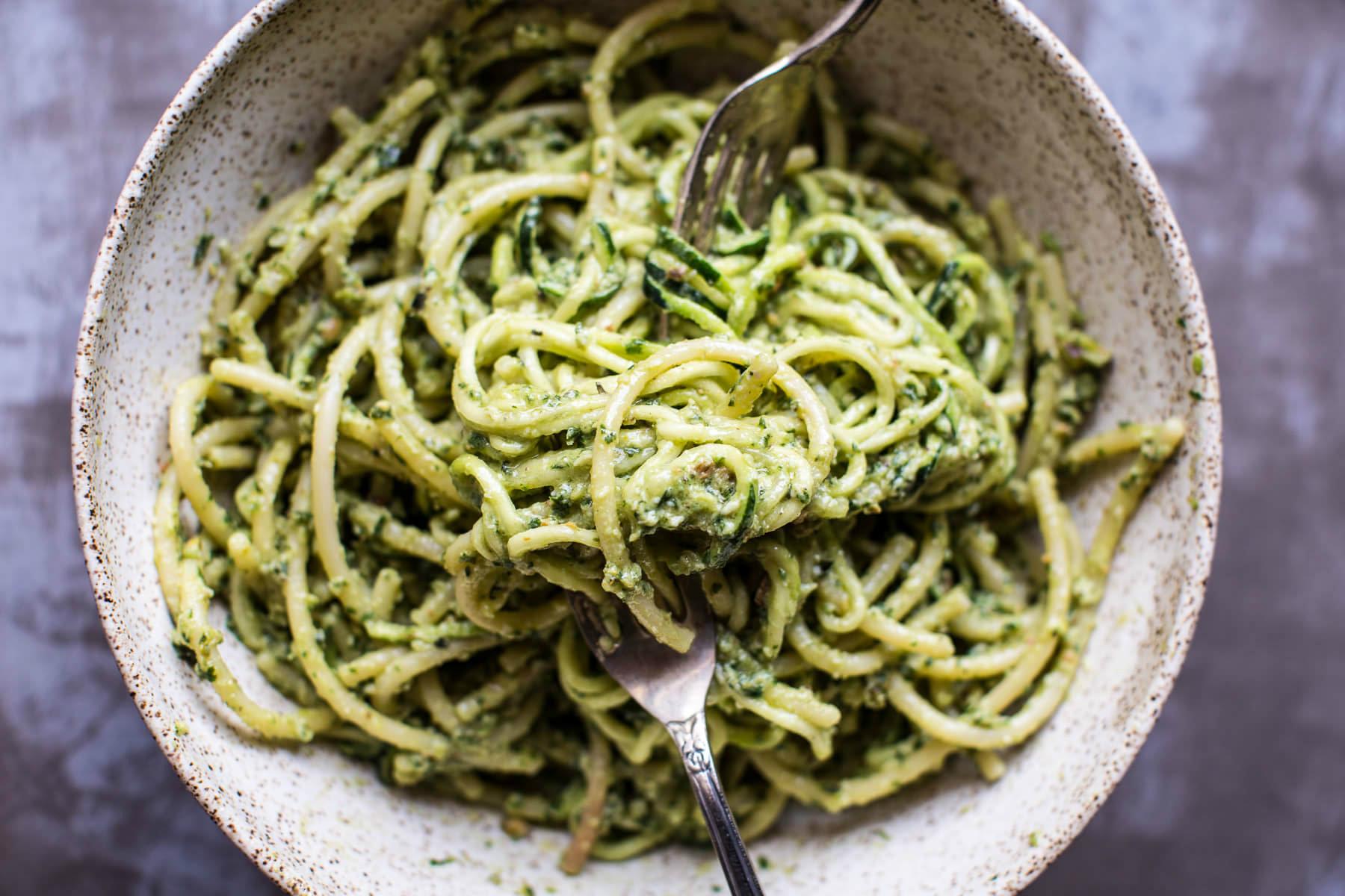 avocado pasta recept
