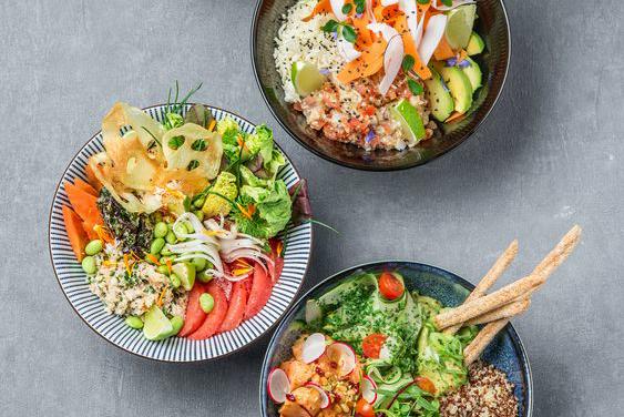 Quinoa Poke Bowl