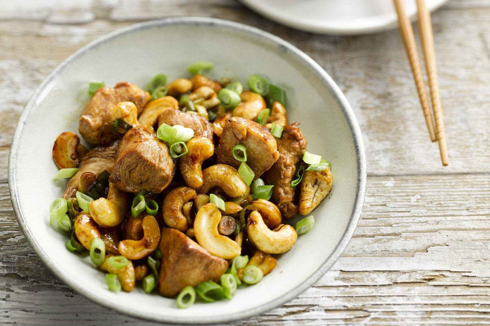 Heerlijke gezonde wok met kip en cashew noten freshhh