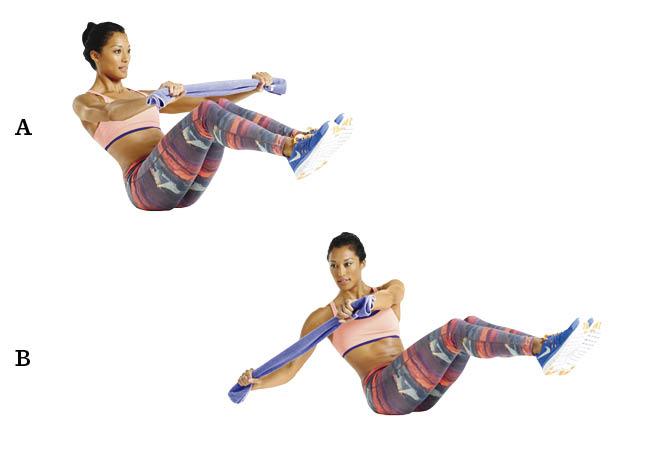 workout oefeningen buik