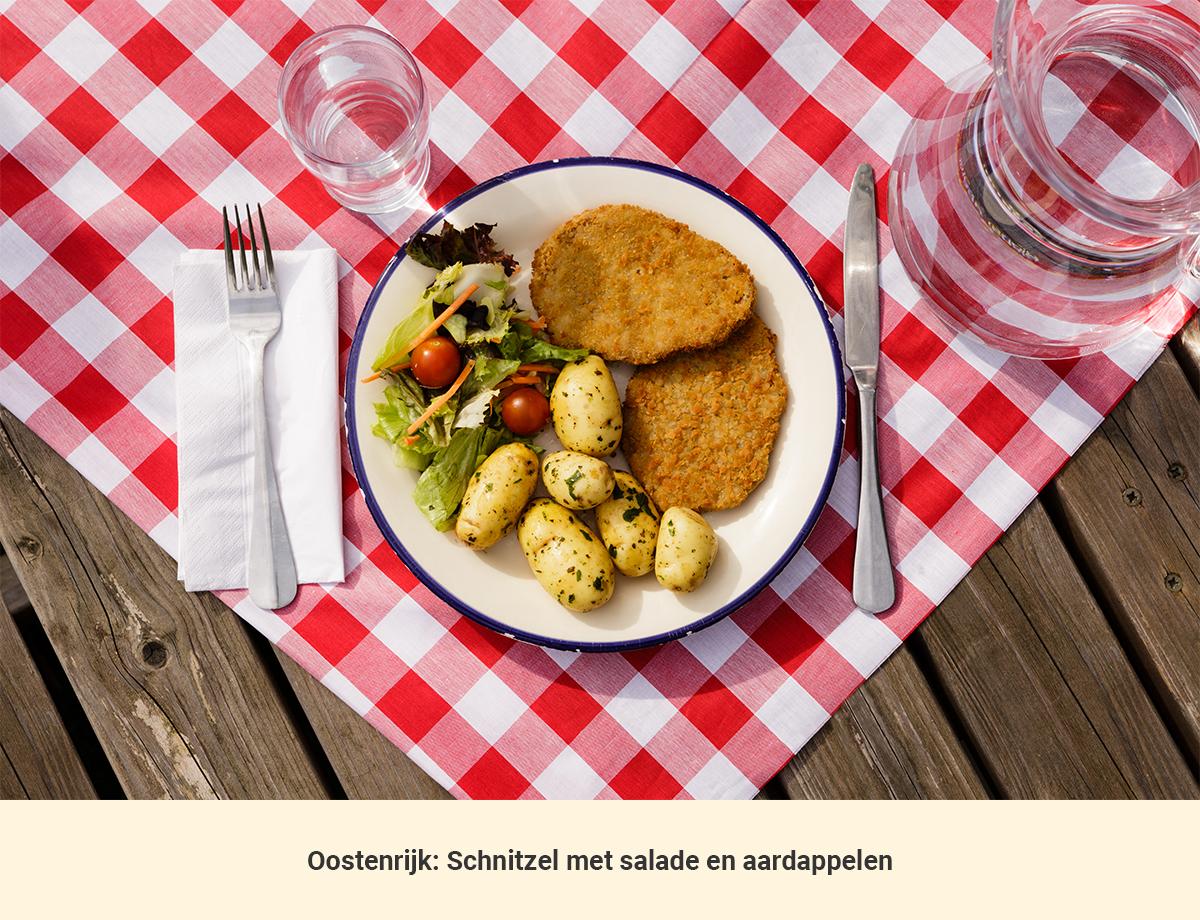 Eten in Oosterijk lunch