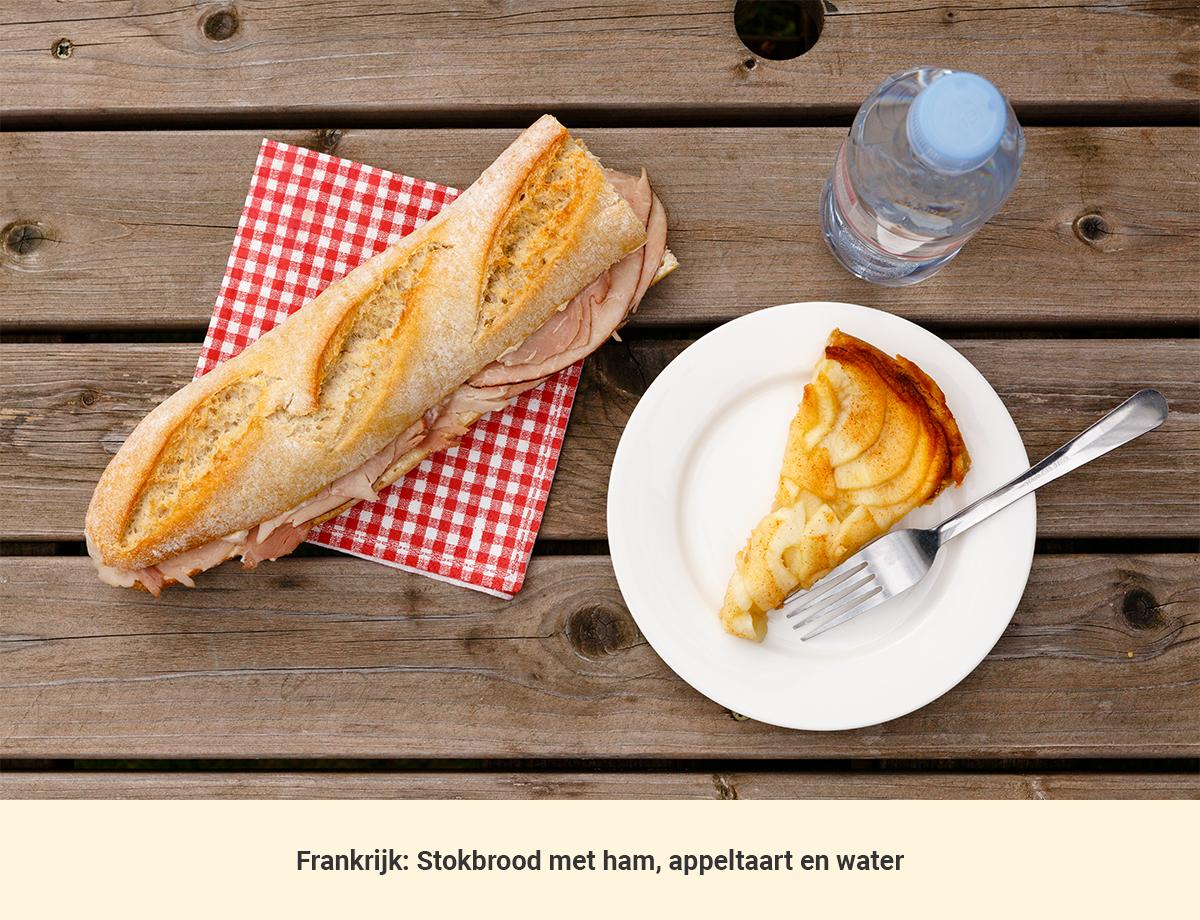 Eten in Frankrijk lunch