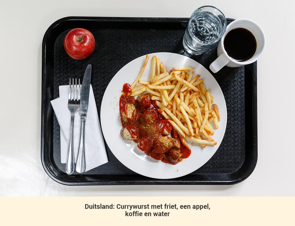 Eten in Duitsland lunch