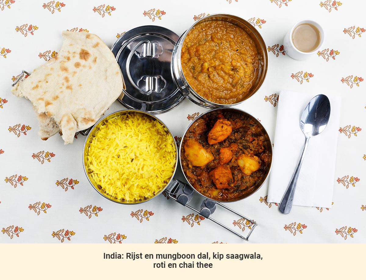 Eten in India lunch