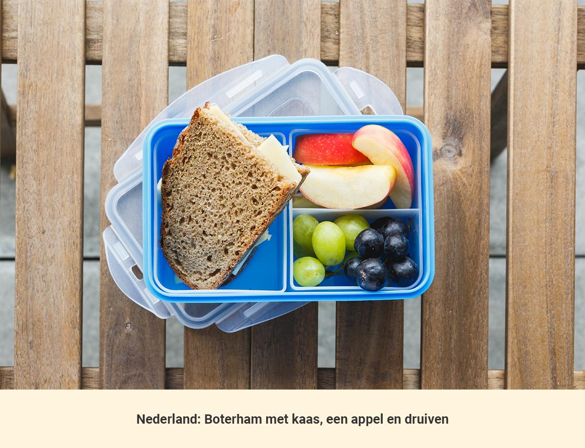 Eten in Nederland lunch