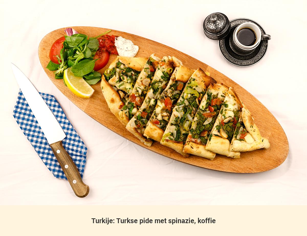 Eten in Turkije lunch