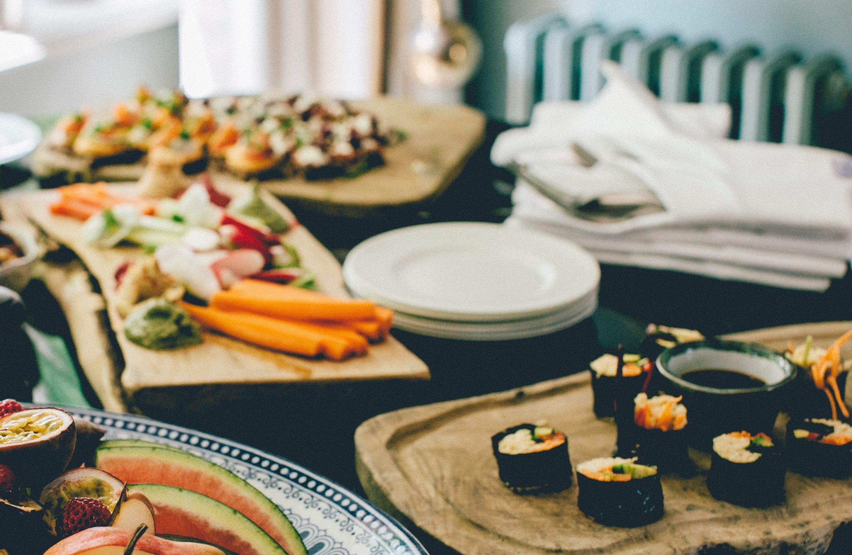 vegan sushi zelf maken