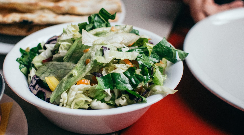 Salade met buffalo mozzarella