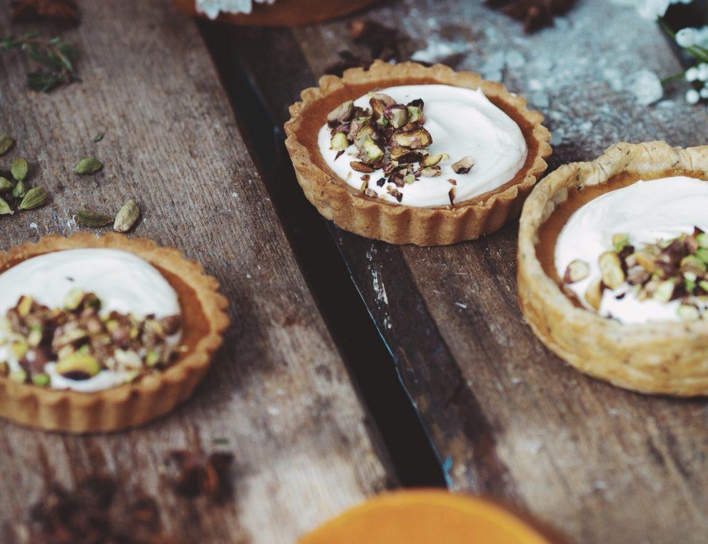 Mini pumpkin pies: gezonde en voedzame vegan taartjes