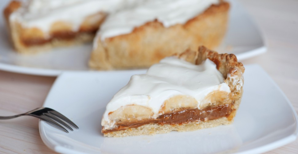 vegan banoffee pie