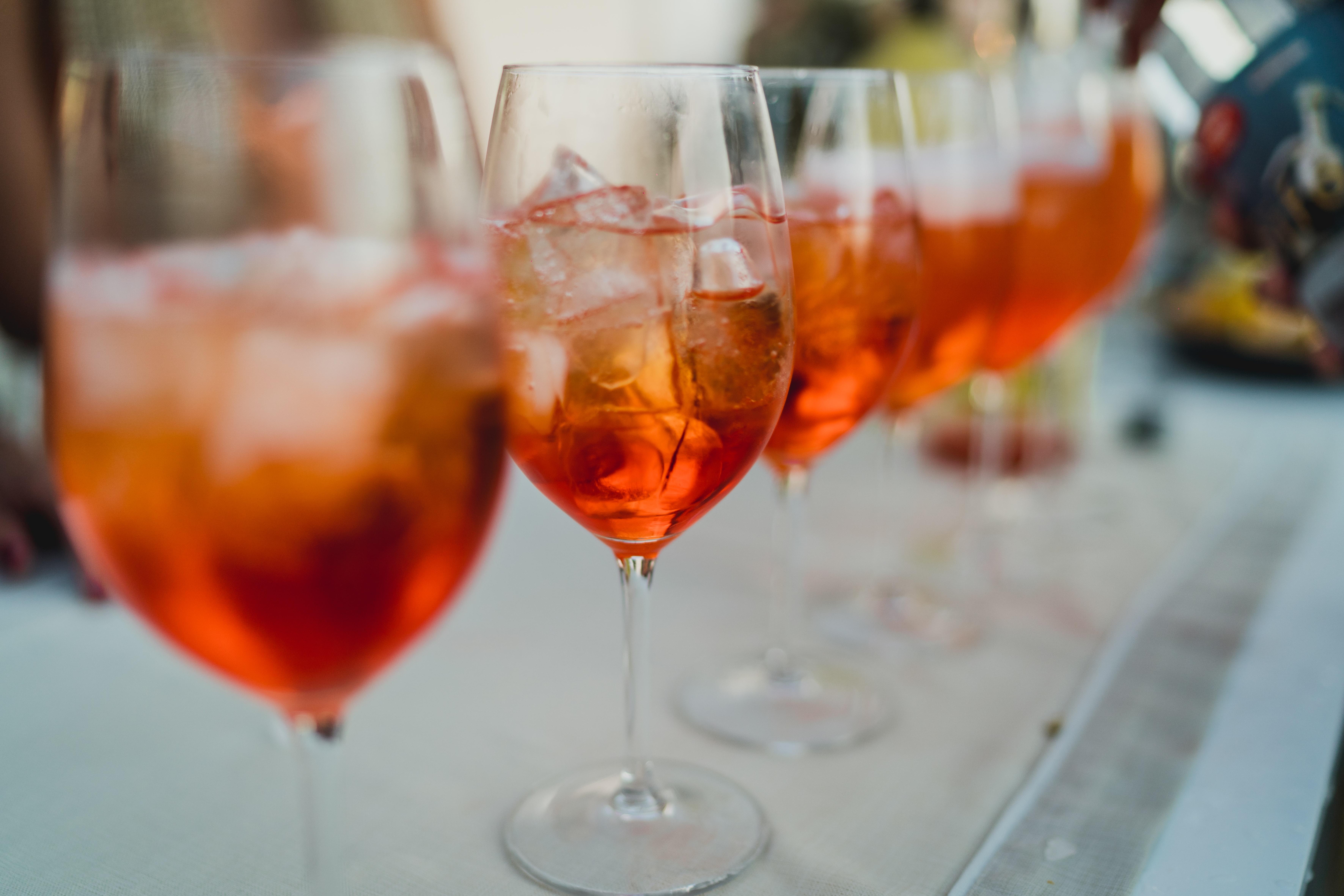 oranje drankjes koningsdag