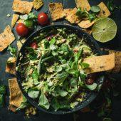 Zoete aardappel nacho's, snacken op een gezonde manier!