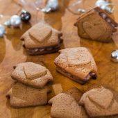 Gezonde koekjes met blauwe bessen