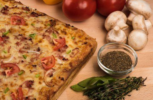 Breakfast pizza, het perfecte kater ontbijtje!