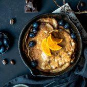 Recept: heerlijk luchtige pumpkin spice pannenkoeken met gember en kaneel
