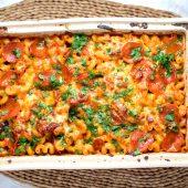 Vegetarische lasagne met ricotta en artisjokharten