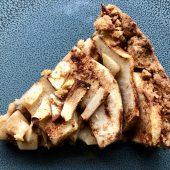 Vegan appeltaart – wedden dat je deze niet wilt delen?