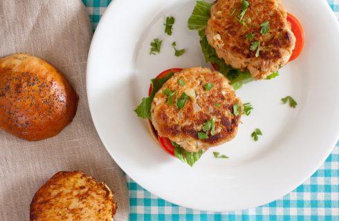 Simpel en lekker: eiwitrijke tonijnburgers