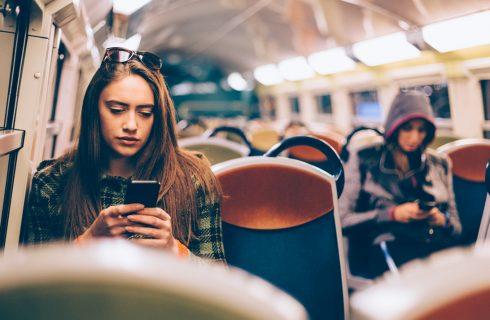 Wat we dagelijks laten slingeren in de trein