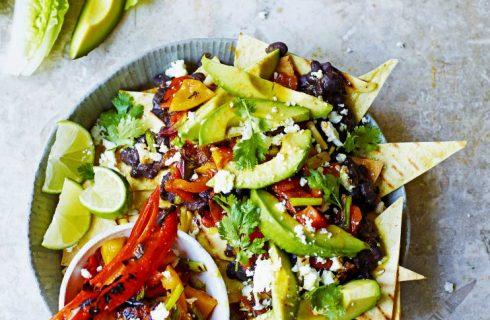 (On)gezond – Vegetarische Mexicaanse nacho's (minder calorieën, minder vet)