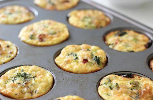 Koolhydraatarm: Vegetarische ei-muffins