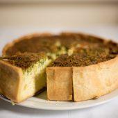 Recept: feestelijke quiche met spinazie en mozzarella