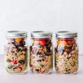 Rode rijst met linzen en maïs: écht plantaardig genieten!