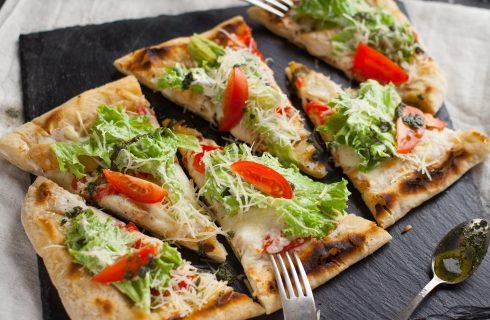 Naanbrood met hummus en spinazie: super snel en makkelijk