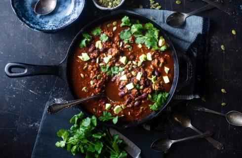 Veganistische Chili Sin Carne: om te smullen!
