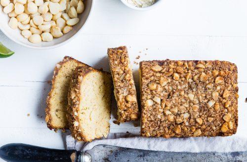 Koolhydraatarme cake: amandelmeel en macadamia noten