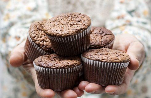 Zwarte bonen muffins om gezond van te genieten