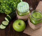 Groene smoothie met spirulina (een echte proteïnenbom!)