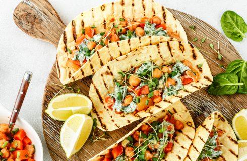 Vegetarische wraps met kikkererwten (en vegan friendly optie!)