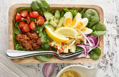 Salade Niçoise – maar dan vegetarisch!