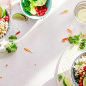 Recept: vegan caesar salade met miso boerenkool