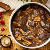 Recept: stamppot andijvie met kaasschnitzel