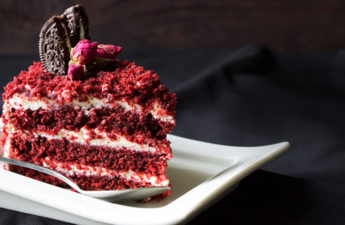 Dit recept voor Red Velvet cheesecake is hemels lekker