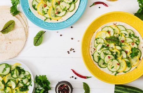 Herfstlunch: Wrap met Hummus en Courgette