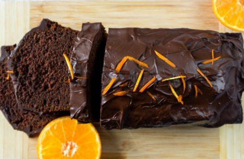 Recept: frisse vegan chocoladecake met sinaasappel