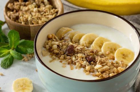 Recept: homemade granola met banaan en chocola