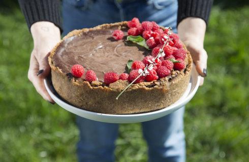 Recept: overheerlijke vegan chocolademoussetaart