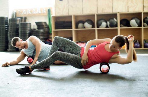 Hoe een foam roller je lichaam kan helpen!