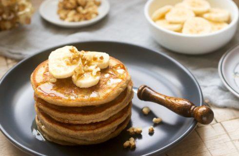 Recept: glutenvrije bananen oatmeal proteïne pancakes