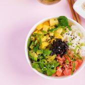 Recept: Poké Bowl met zoete aardappel