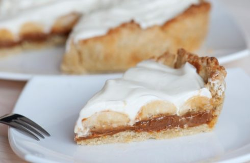 Recept: heerlijke vegan banoffee pie als kerst toetje!