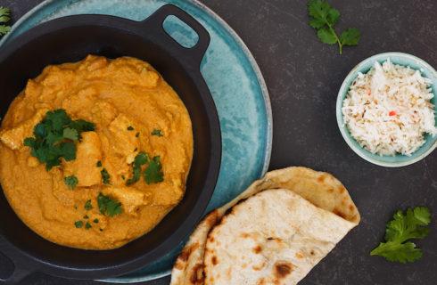 Recept: vegan gele curry met tofu en kikkererwten
