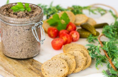 Recept: Paddenstoelenpaté met walnoten en tijm