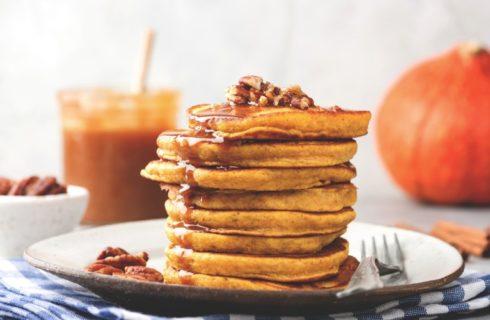 Heerlijke pompoen pannenkoekjes als ontbijt